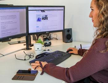 Het kantoor waar Drechtsteden webdesign is gevestigd